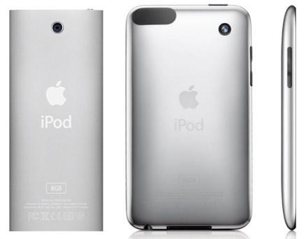 iPod Touch y nano con cámara