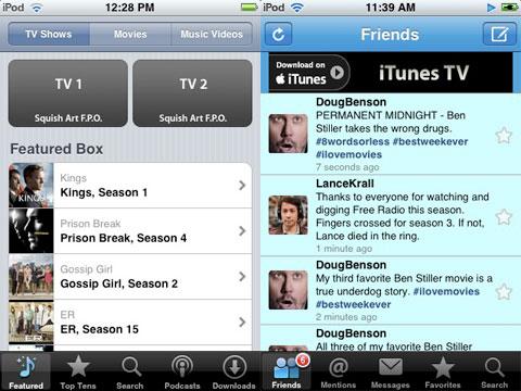Peliculas para descargar en el iPhone / iPod Touch