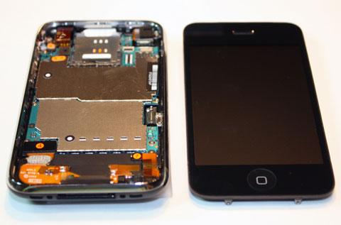 El iPhone 3G S por dentro