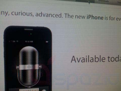 Foto espia del iPhone