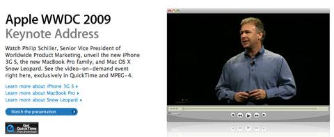 Video de la keynote