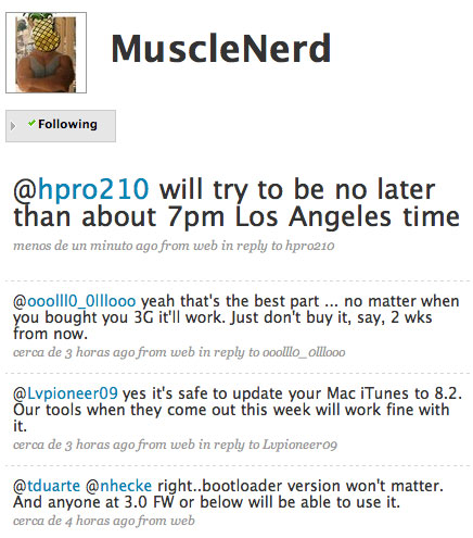 Musclenerd da detalles sobre el nuevo yellowsn0w