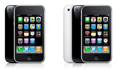 Todos los modelos de iPhone 3G y 3GS