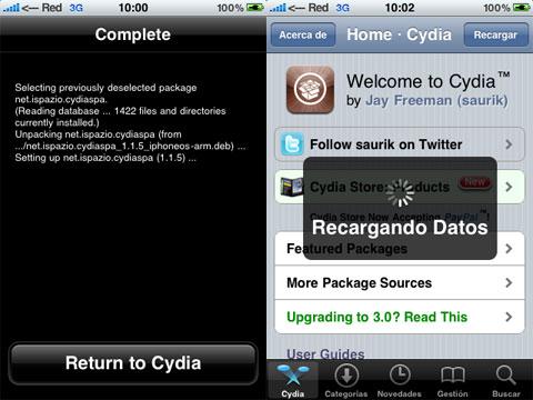 Cydia en Español