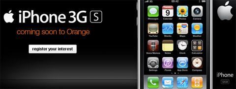 iPhone de Orange UK