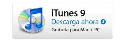 iTunes 9 ya disponible