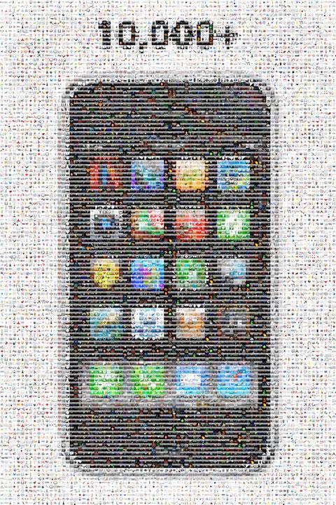 10000 aplicaciones
