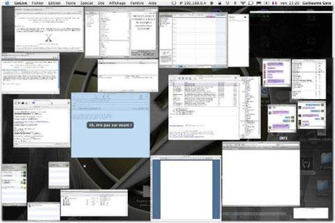 Exposé en un Mac