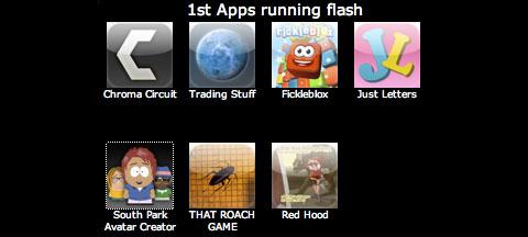 Aplicaciones Flash en el iPhone