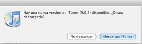 iTunes 9.0.2