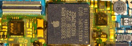 CPU del iPhone