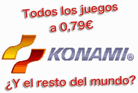 Konami rebaja sus juegos