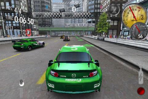 Need for Speed en el iPhone