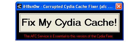 Arregla Cydia estropeado
