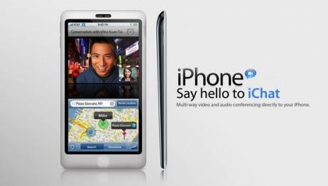 Concepto de diseño de un iPhone 4G