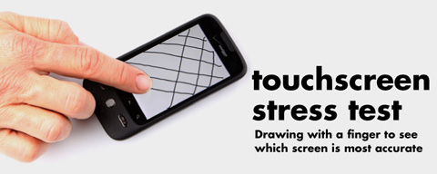 Pruebas de Touch screen