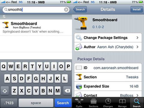 Smoothboard