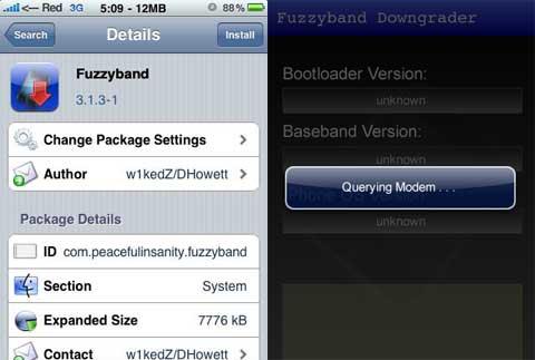 Fuzzyband para el firm 3.1.3