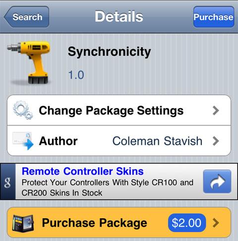 Synchronicity: usa aplicaciones durante una sincronización