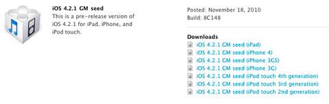 iOS 42.1 GM