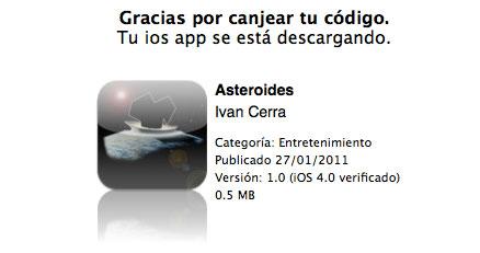 Asteroides gratis