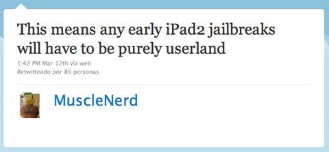 MuscleNerd hablando del Jailbreak en el iPad 2