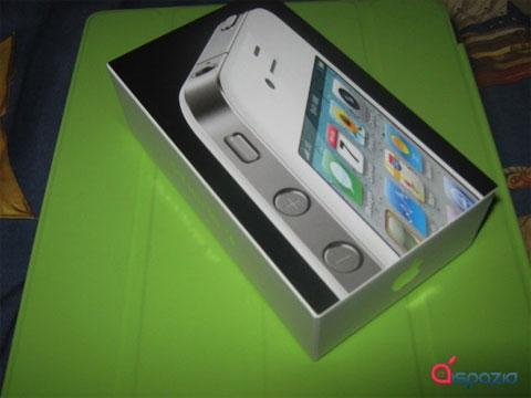Caja del iPhone 4 blanco