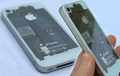 carcasa trasera iphone se