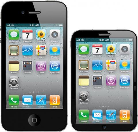 Concepto de diseño de iPhone Nano