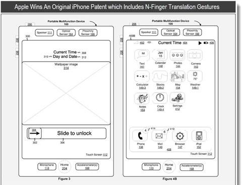 Patente general del iPhone