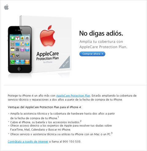 Email de Apple
