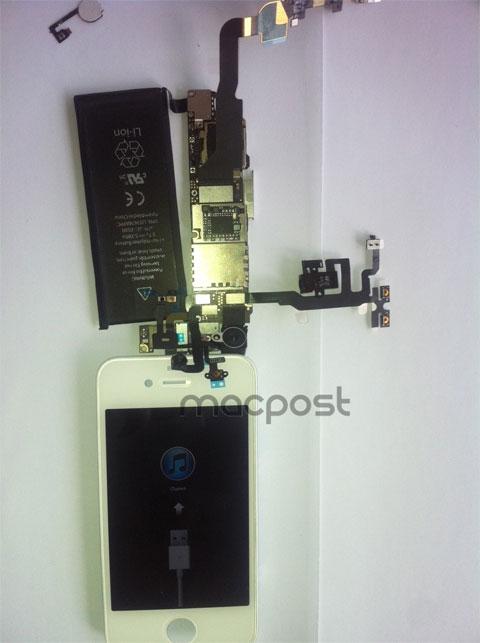 Foto falsa de un supuesto iPhone 4S