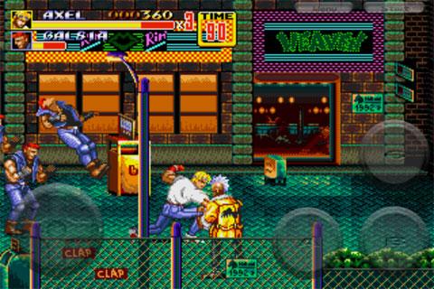 Clasicos De Mega Drive En El Iphone Streets Of Rage 2 Gratis Por