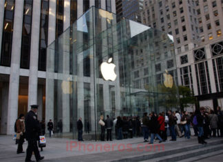 Nuevo cubo de cristal de la Apple Store de la Quinta Avenida