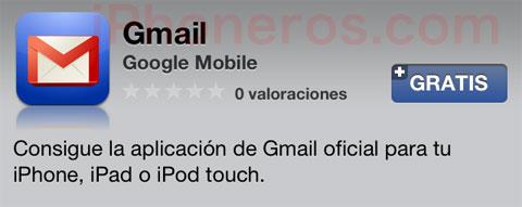 App de Gmail para iOS