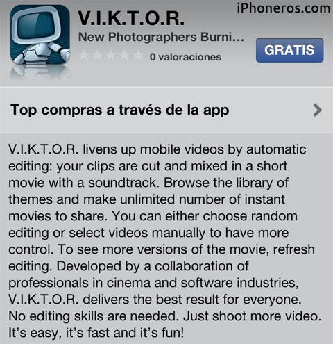 VIKTOR en la App Store