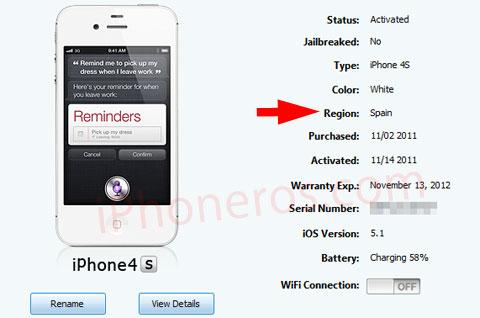 como se rastrea un iphone 6 Plus