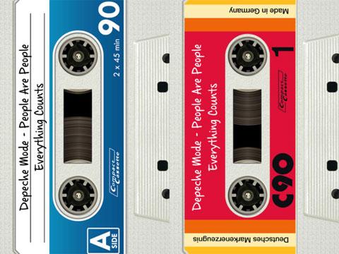 Cintas de Cassette de DeliTape