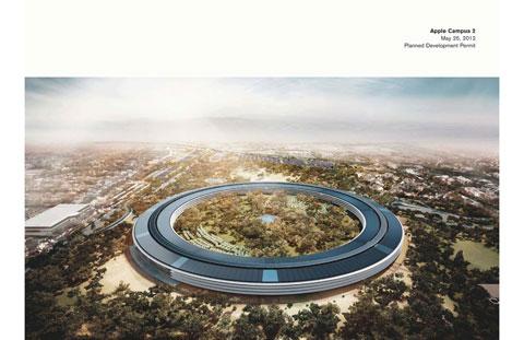 Planos del Campus 2 de Apple