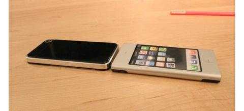 Prototipo de iPhone 4 en el año 2006