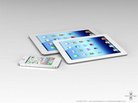 concepto de diseño del iPad Mini