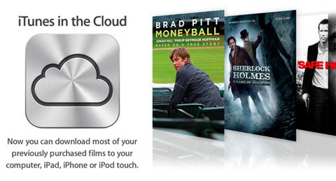 Películas en la nube de iCloud