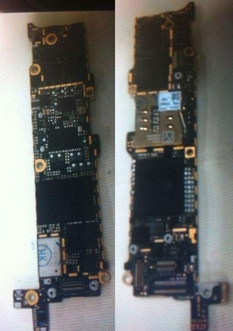 Supuesta placa base del próximo iPhone