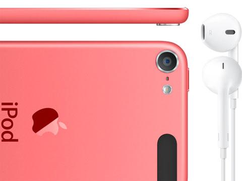 EarPods con el nuevo iPod Touch