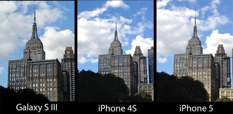 Comparativa de c maras entre el iphone 5 4s y galaxy s3 for Stima del costo del garage gratuita