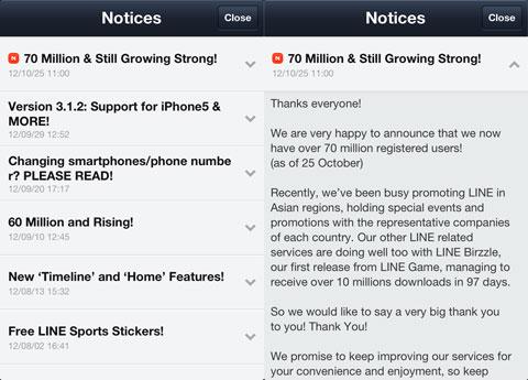 70 millones de usuarios