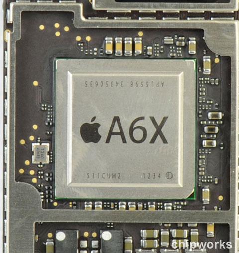 SoC A6X de Apple