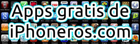Apps gratis en iPhoneros.com