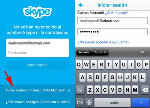 Cómo fusionar cuentas de Windows Live Messenger y Skype