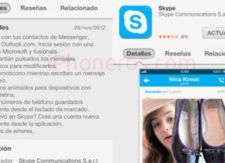 Nuevo Skype para iOS